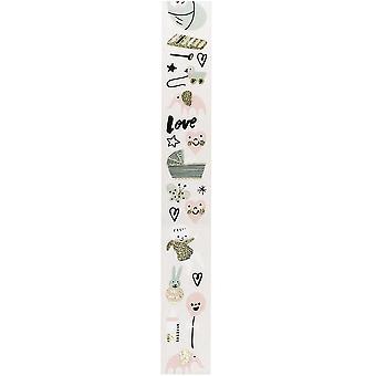 Baby Girl Washi Tape 10m Craft - Christening - Craft