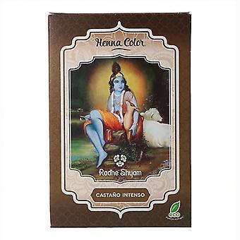 Halvperansiv färgant Henna Radhe Shyam Brun (100 g)