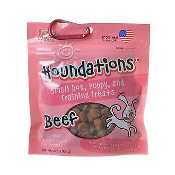 Loving Pets Houndations Training Treats - Beef - 4 oz