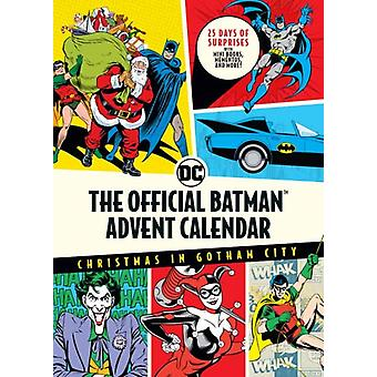 The Official Batmantm Advent Calendar Christmas in Gotham City 25 Days of Surprises with Mini Books Mementos and More Batman Books Fun Holiday Advent Calendar Super Hero Gifts by Insight Editions