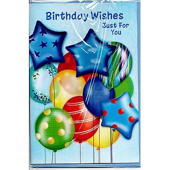 Grattis på födelsedagen kort man