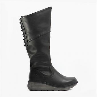 Heavenly Feet Ohio Ladies Tall Boots Black