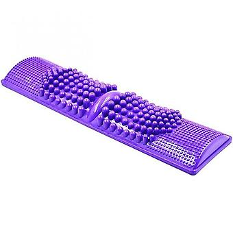 Foot Massager Sturdy Plastic Portable Home Reflexology Toe Acupressure Mat For Adults Women Men Massage Foot Acupuncture Point