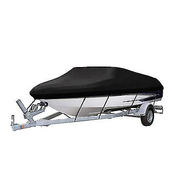 Outdoor furniture covers 20-22ft benchmark boat cover 210d waterproof canvas trailerable waterproof boat cover 16-18ft