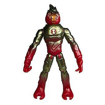 Ben 10, Action Figure - Omni-Metallic Heat Blast