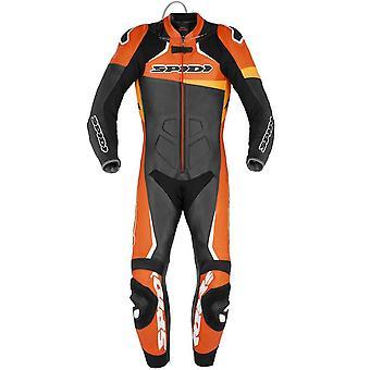 スパイディ GB レース戦士 CE パーフ プロスーツ ブラック オレンジ Y146-087