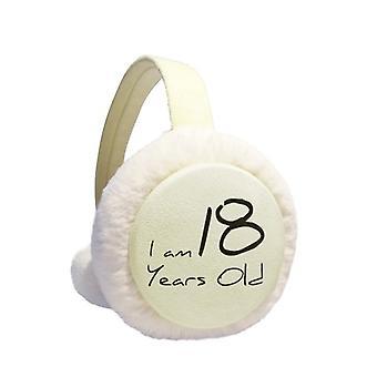 18 שנים צעיר חורף earmuff
