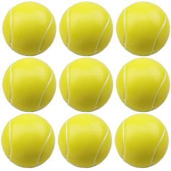 כדורי טניס קצף 9 יח', כדורי ספורט מיני, כדורי אנטי סטרס, כדור רך