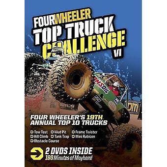 Four Wheeler Top Truck Challenge VI [DVD] USA import
