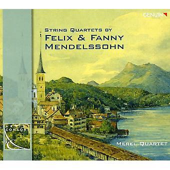 Mendelssohn-Bartholdy/Hensel - String Quartets by Felix & Fanny Mendelssohn [CD] USA import