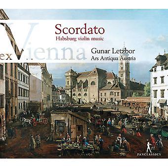 Schmelzer / Ars Antiqua Austria / Letzbor - Scordato - Hapsburg Violin Music [CD] USA import