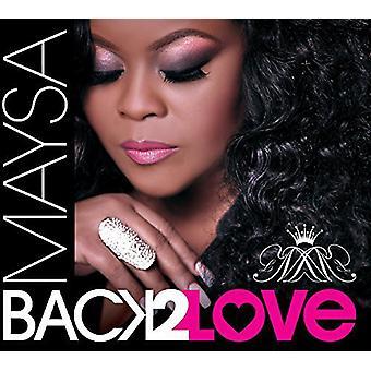 Maysa - volver a importación de USA de amor [CD]