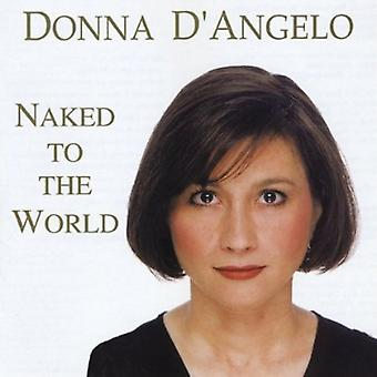 Donna D'Angelo - Naked to the World [CD] USA import