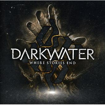 Darkwater - Where Stories End [CD] USA import
