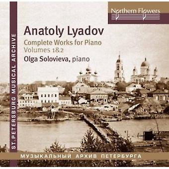 Soloviova - Lyadov: Complete Works for Piano 1 [CD] USA import