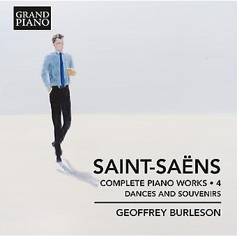 Saint-Saens / Burleson - Saint-Saens / Burleson: Complete Piano Works 4 [CD] USA import