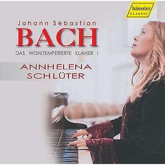 Bach, J.S. / Schluter - Bach;J.S.: Das Wohltemperierte [CD] USA import
