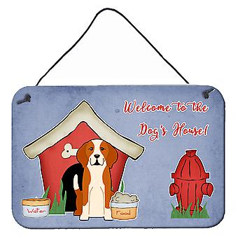 Dog House Collection English Foxhound Wall or Door Hanging Prints