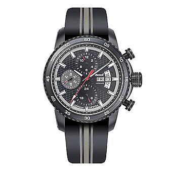 Ingersoll men's watch wristwatch automatic bison N0. 74 IN1717BK
