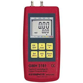 Greisinger GMH 3181-01 Digital bem manómetro com Logger