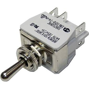 APEM 647H/2 / 6473676 Toggle switch 250 V AC 10 A 2 x (On)/Off/(On) momentary/0/momentary 1 pc(s)