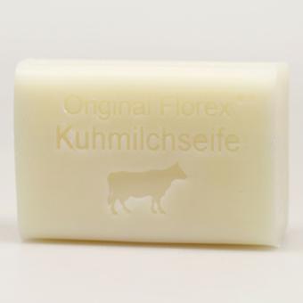 Sabão de leite de ovelha Florex - Leite de Vaca - Ingredientes de Alta Qualidade Espuma Cremosa Muito Hidratante 100g