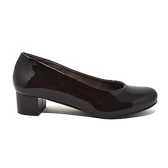 Liberitae Salon Salon shoes in patent leather Chocolate 21603452-32 round tip