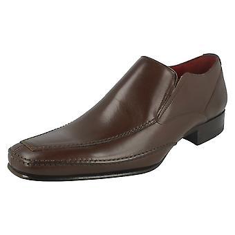 Mens Loake formelle Slip On chaussures Matthews
