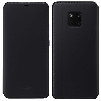 Huawei wallet cover black cover case for mate 20 Pro bag book flip cover case