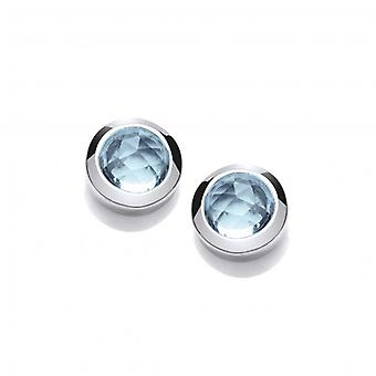 Cavendish French Blue Beauty Cubic Zirconia Earrings