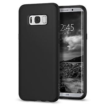 Soft black case Samsung Galaxy S8