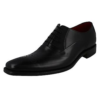 Mens Loake Smart Leather Lace Up Shoes Gunny