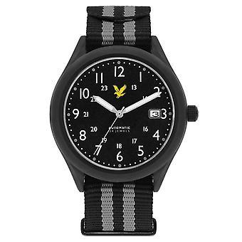 Lyle und Scott Stealth Watch - schwarz/grau