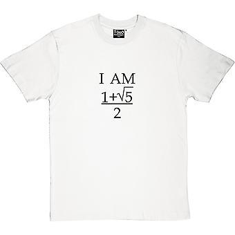 Jag är perfekt mäns T-Shirt