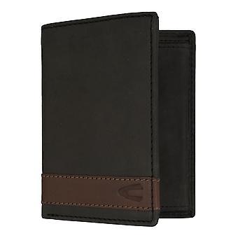 Sac à main camel active mens wallet portefeuille avec puce RFID protection noir 7311