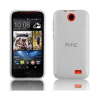 Cadorabo Hülle für HTC Desire 310 hülle case cover - Handyhülle aus flexiblem TPU Silikon – Silikonhülle Schutzhülle Ultra Slim Soft Back Cover Case Bumper
