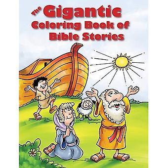 Raamatun tarinoita jättimäinen värityskirja