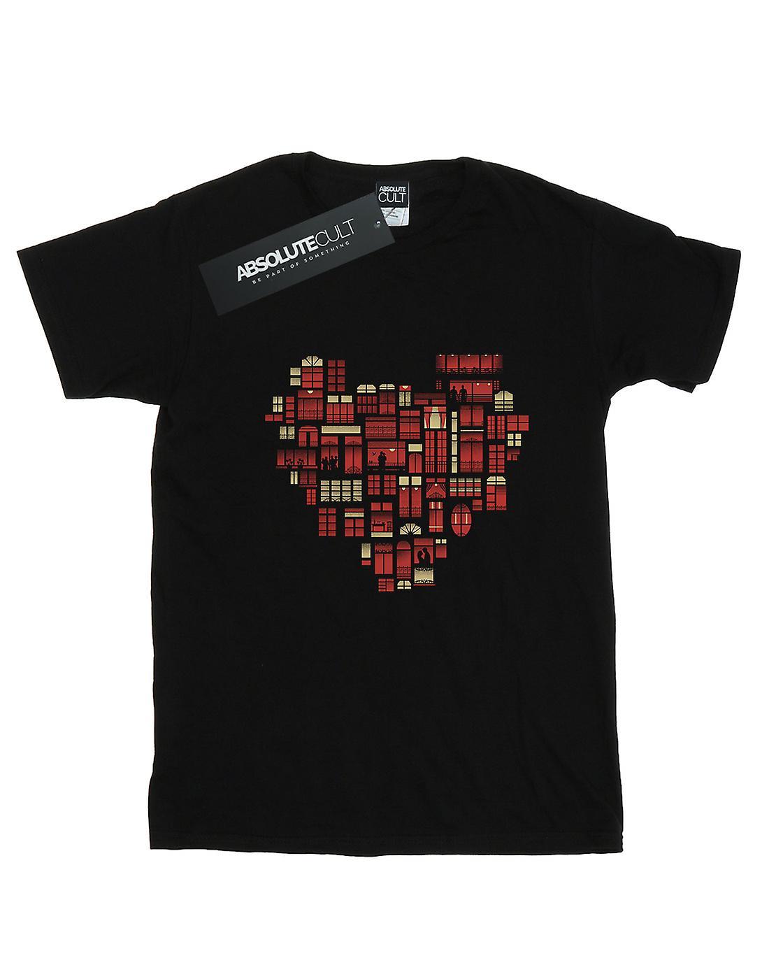 Dan Dingeroz Girls Home Heart T-Shirt