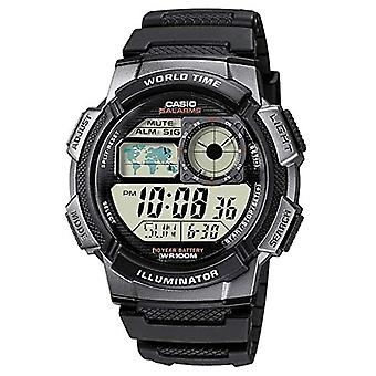 Casio Collection AE-1000W-1BVEF, horloge avec LED, noir/gris