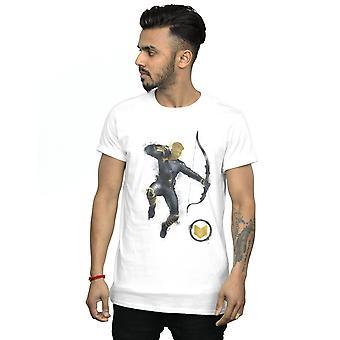Marvel hommes Avengers Endgame peint Hawkeye T-Shirt