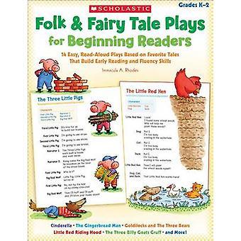 Folk & Fairy Tale Plays for Beginning Readers - Grades K-2  - 14 Easy
