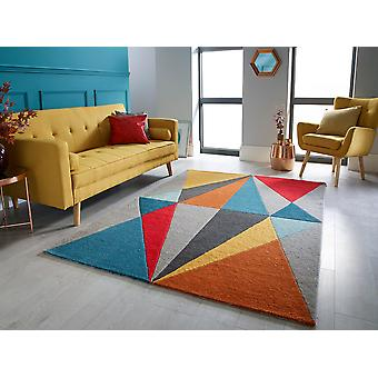 Infinite  Diamonds Multi  Rectangle Rugs Funky Rugs