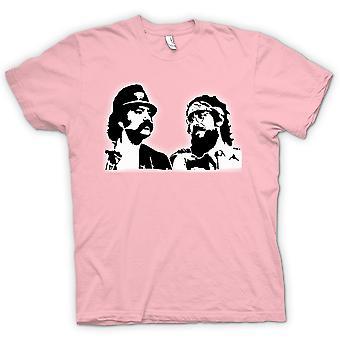 Kvinner t-skjorte - Cheech- og Chong - komedie Retro