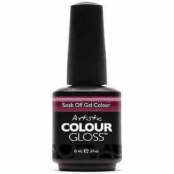 Artistic Colour Gloss Soak Off Gel Polish - Crazed