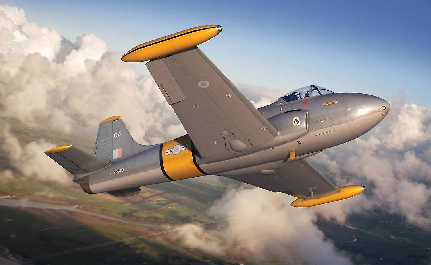 Airfix Hunting Percival Jet Provost T.4 Model