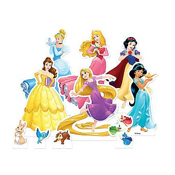 Disney Prinzessin offiziellen Tisch Top Karton Ausschnitte Party Pack von 10