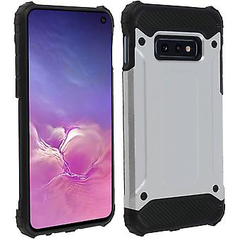 Defender II Series Protection Case Samsung Galaxy S10e - Drop proof Silver