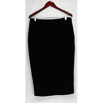 G.I.L.I. got it love it Skirt Stretch Twill Striped Burgundy/ Black A268271