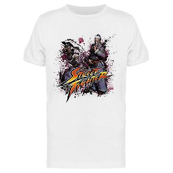 Street Fighter Gen Attack tee Men ' s-Capcom designs