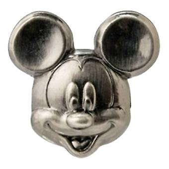 Pin - Disney - Mickey Mouse Head Pewter Lapel New Licensed 25169